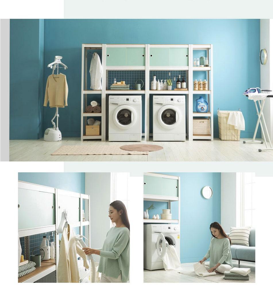 Laundry Room / Washing machine(dryer) shelves
